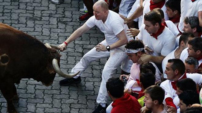 Spain's Bull-Running Festival