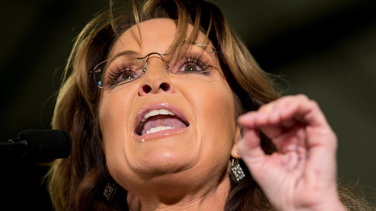 Palin takes heat from veterans for using son's arrest, PTSD to criticize Obama