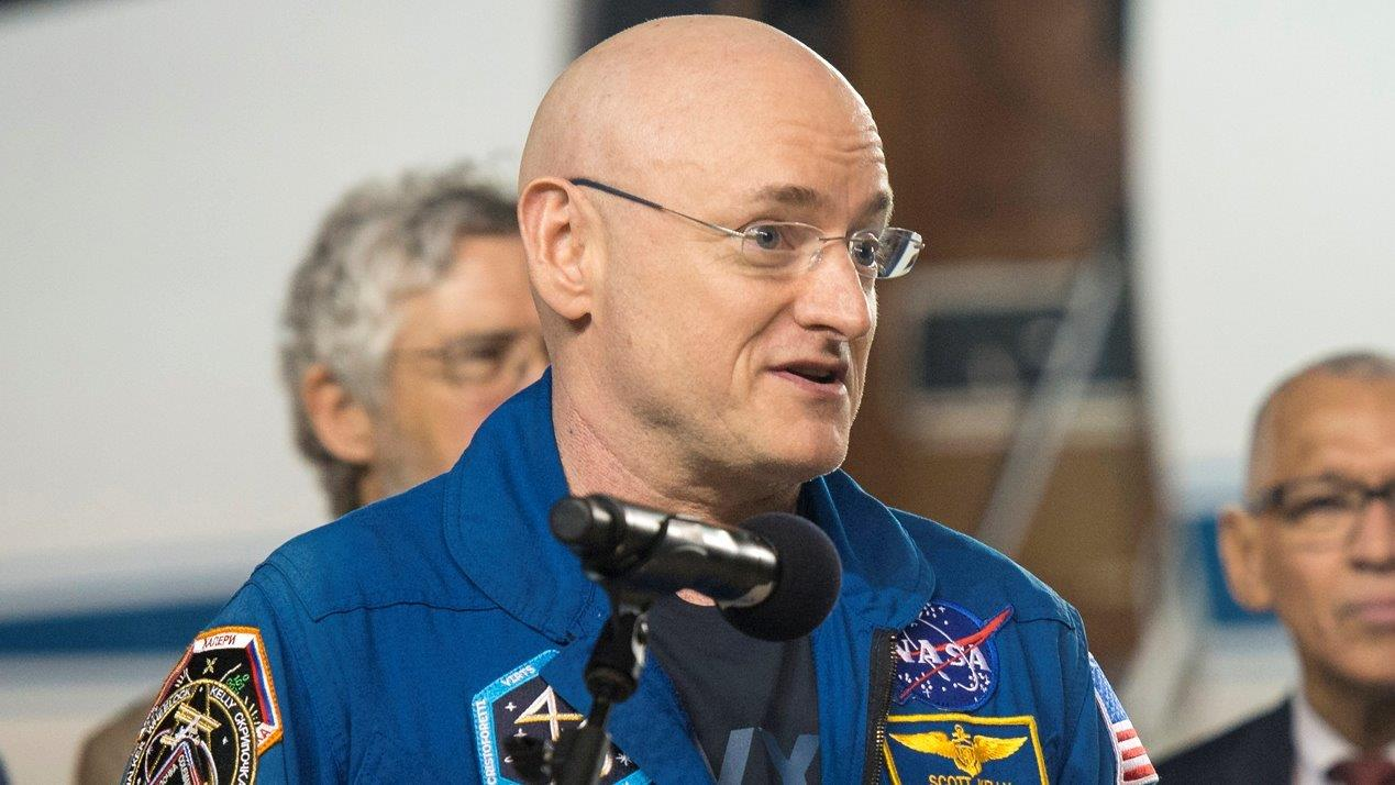 NASA astronaut Scott Kelly talks one-year mission in space