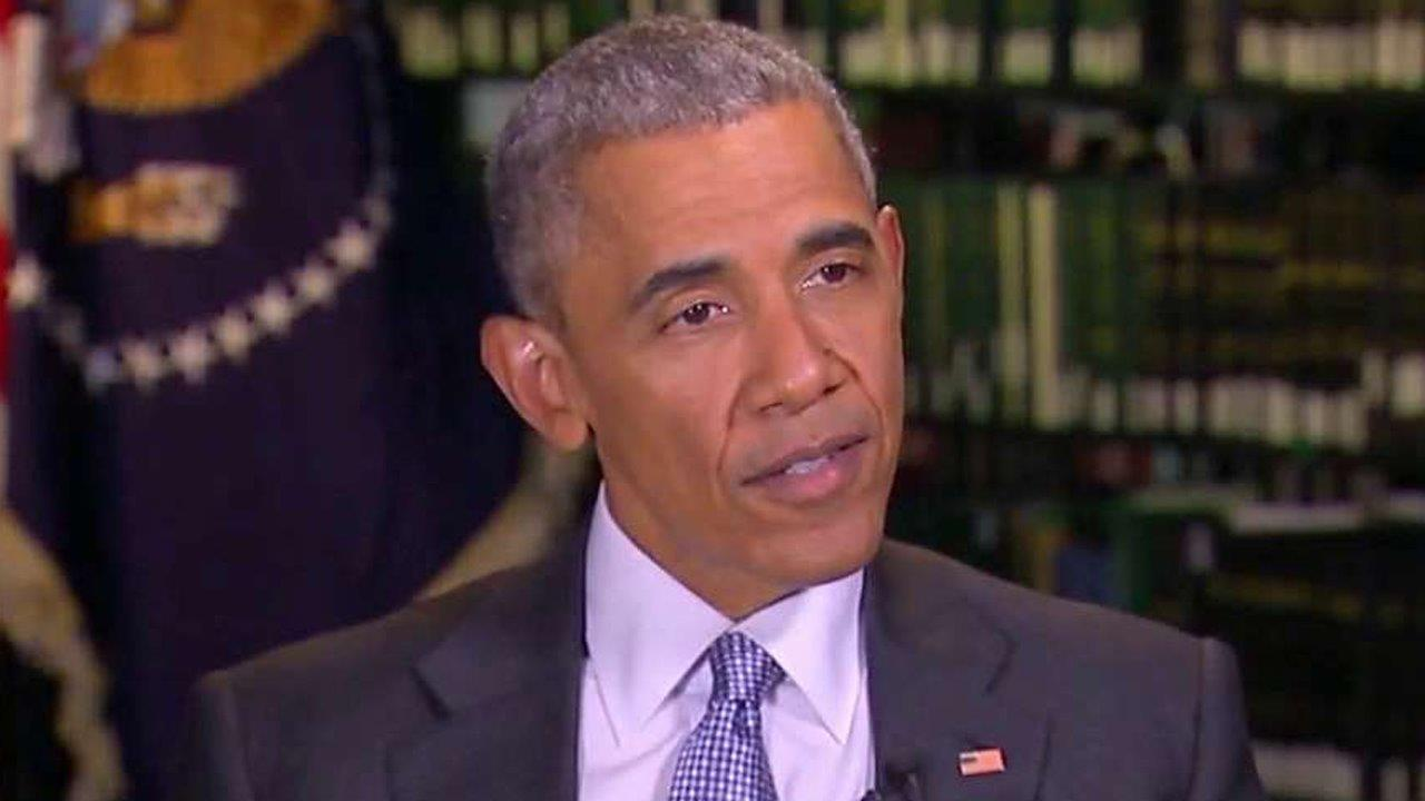 Exclusive: President Barack Obama on 'Fox News Sunday'
