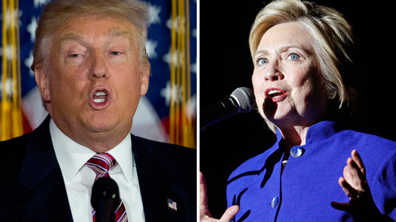 Clinton, Trump get into epic Twitter fight; Anthony Weiner joins in