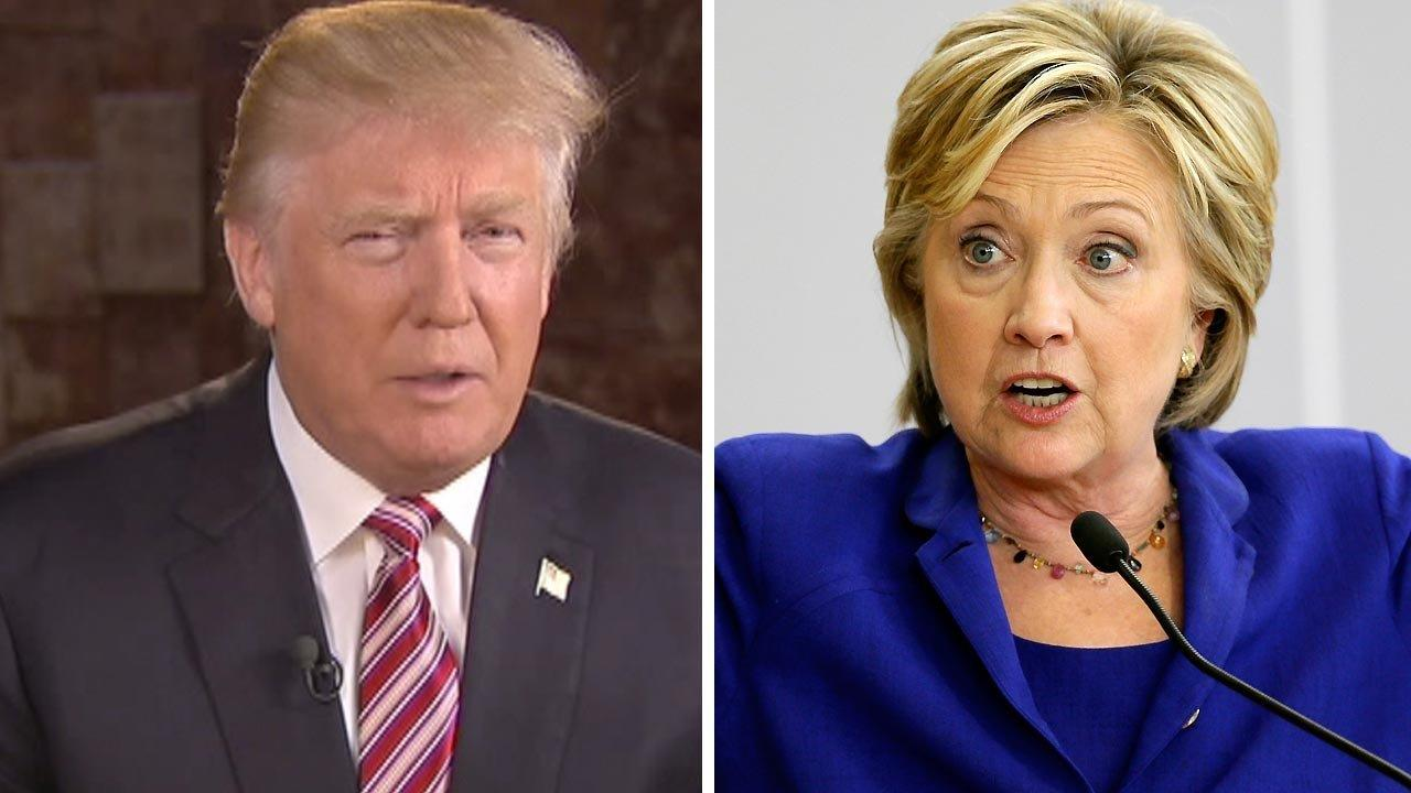 Trump: Hillary Clinton's temperament is a 'disaster'