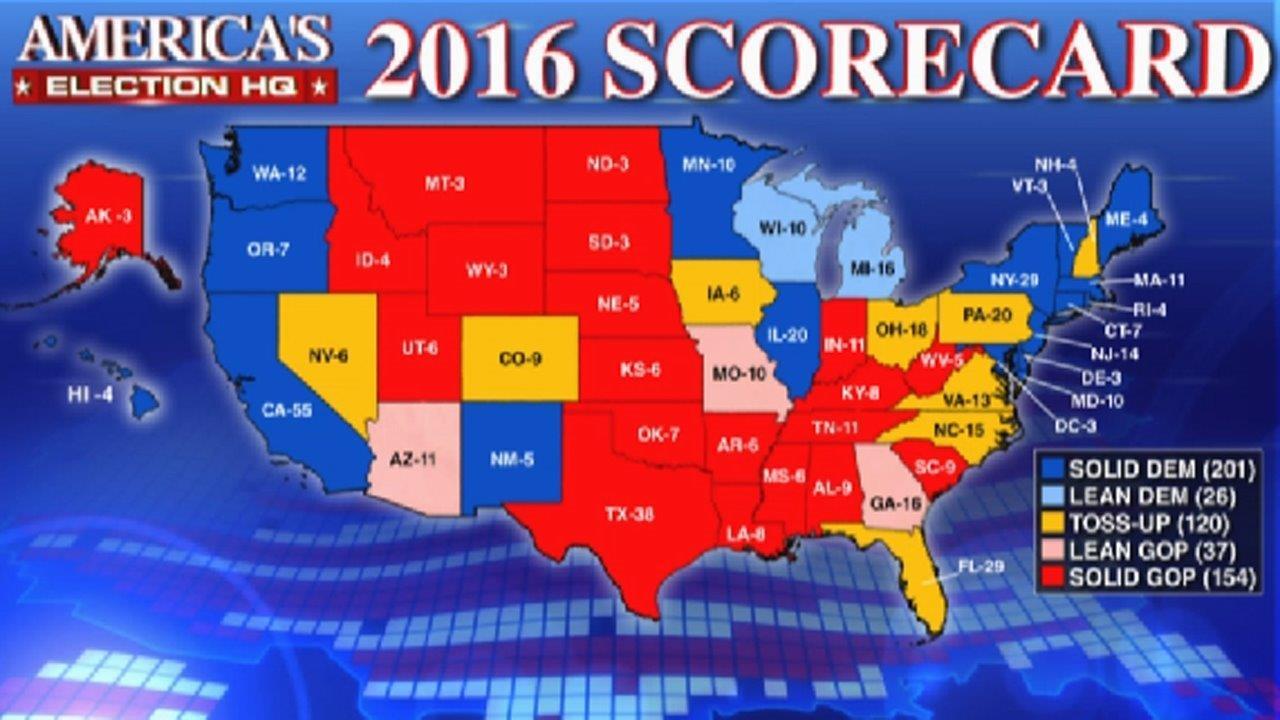 Fox News debuts electoral map Fox News Video