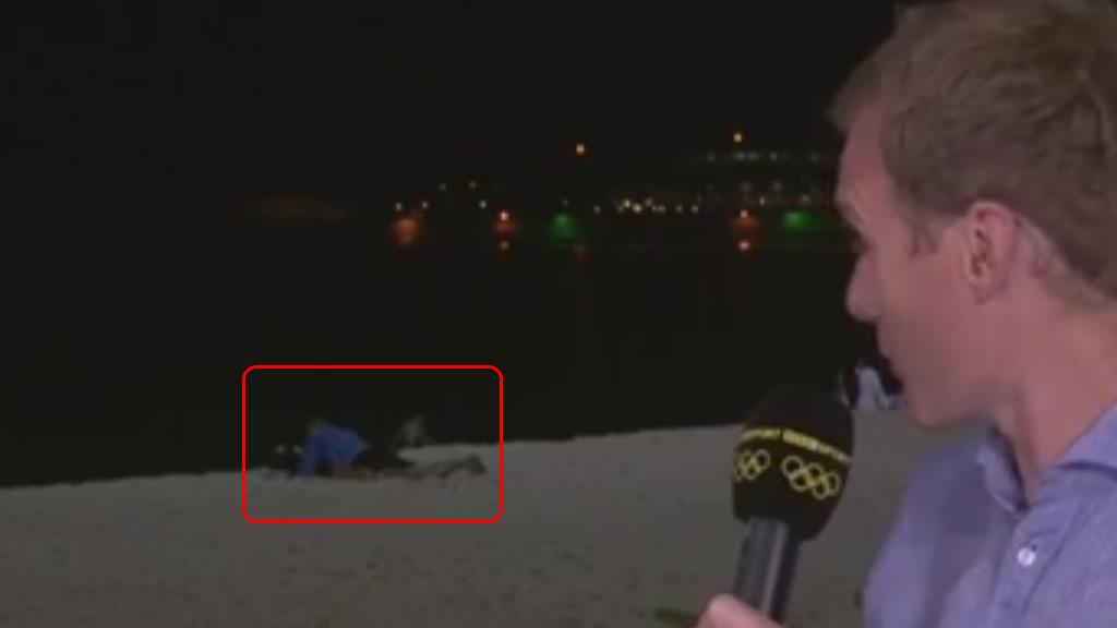 Bbc Appears To Air Couple Having Sex In The Background Of Rio Broadcast Fox News