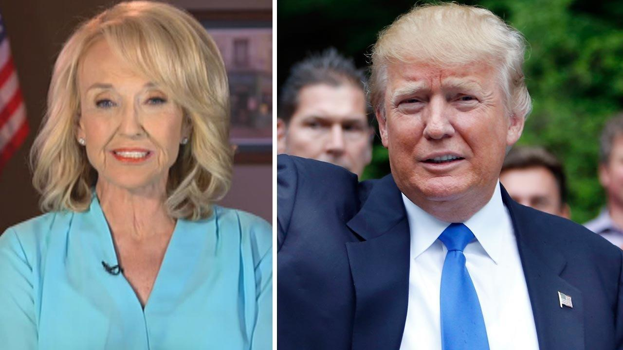 Former Arizona Gov. Brewer says Trump 'water boarded' by female accusers