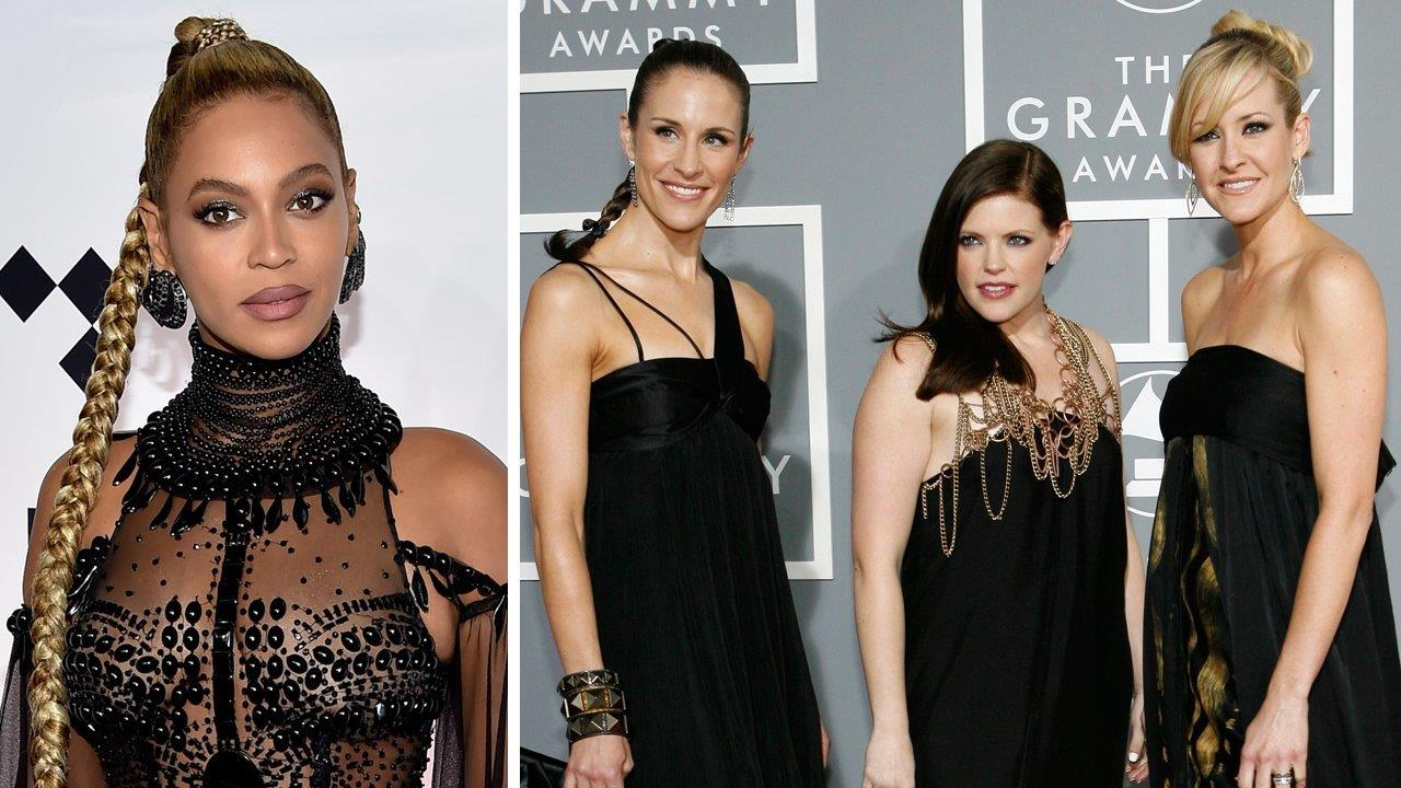 Fans mad Beyonce, Dixie Chicks performed at the CMAs