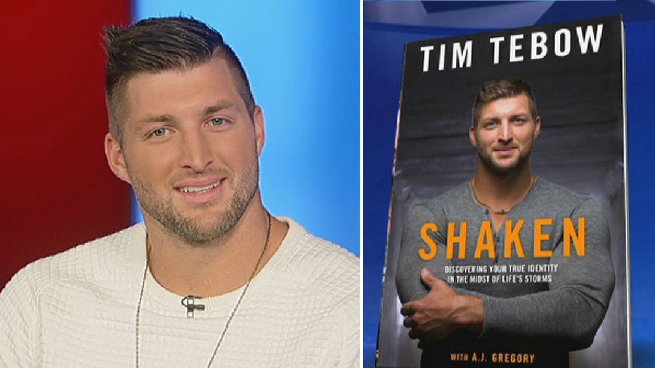 Tim Tebow opens up about his challenges in 'Shaken'