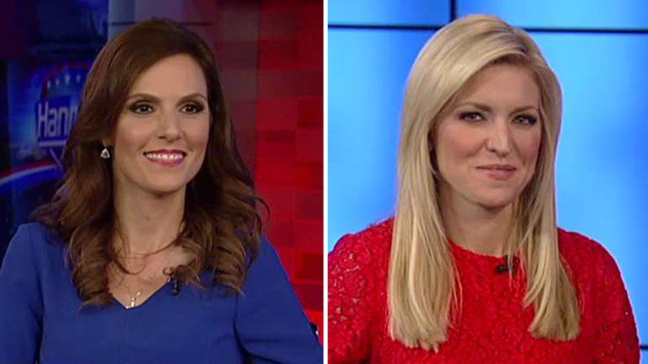 Taya Kyle and Ainsley Earhardt react to Time's Trump story