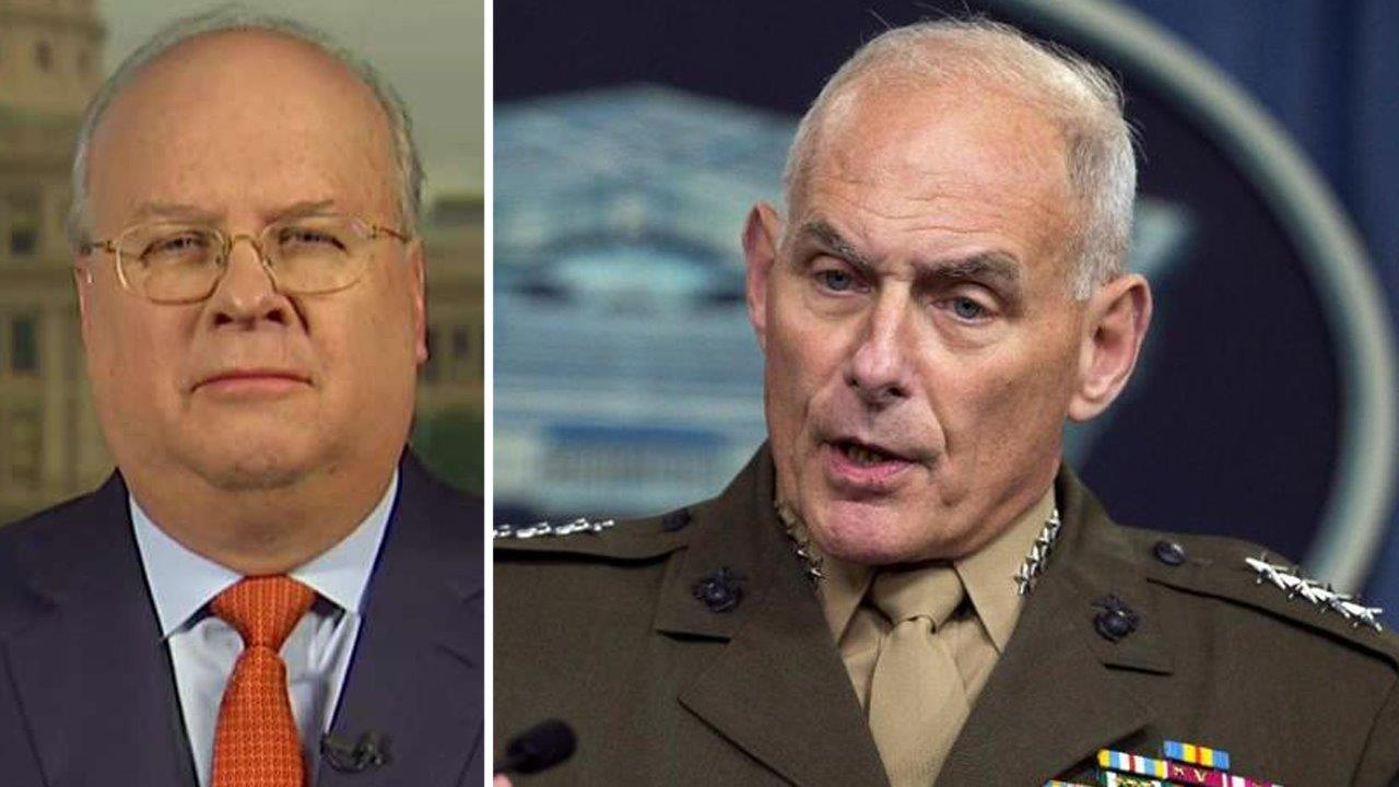 Too many generals? Rove blasts critics of Trump's Cabinet | Fox ...