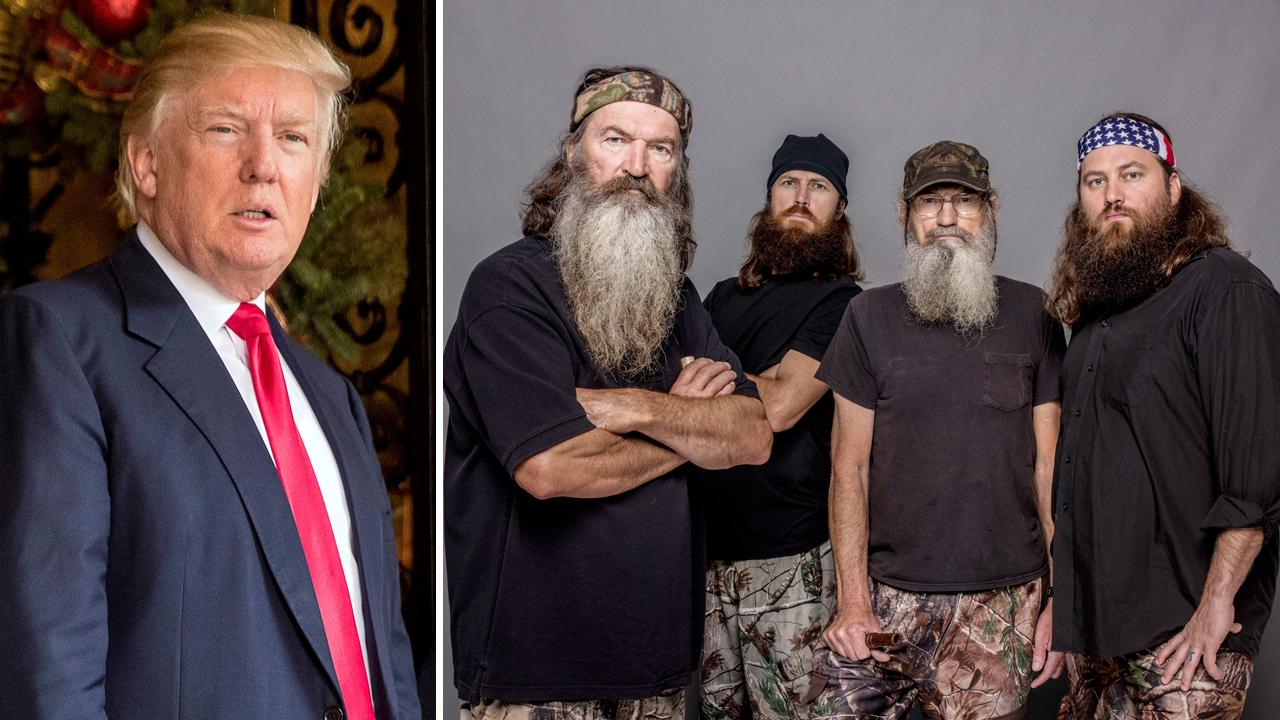 "Mr. Trump, you owe ""Duck Dynasty"" a gold-plated duck blind"