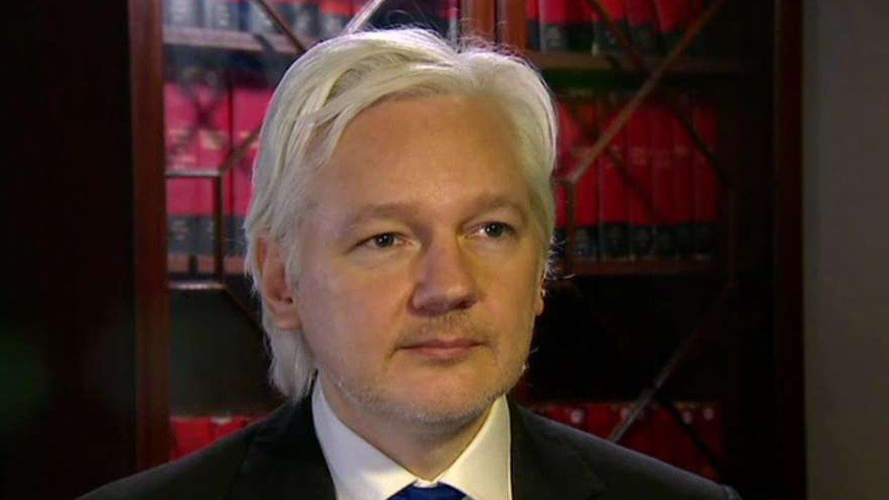 Julian Assange: Our source is not the Russian government