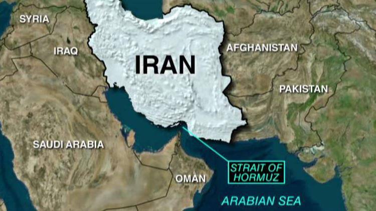 Navy destroyer fires warning shots at Iranian vessels in Strait of Hormuz