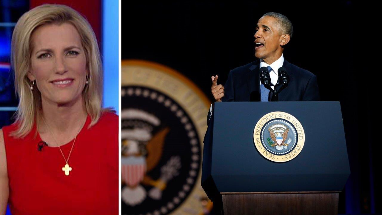 Laura Ingraham: Obama 'squandered a lot of opportunities' as president