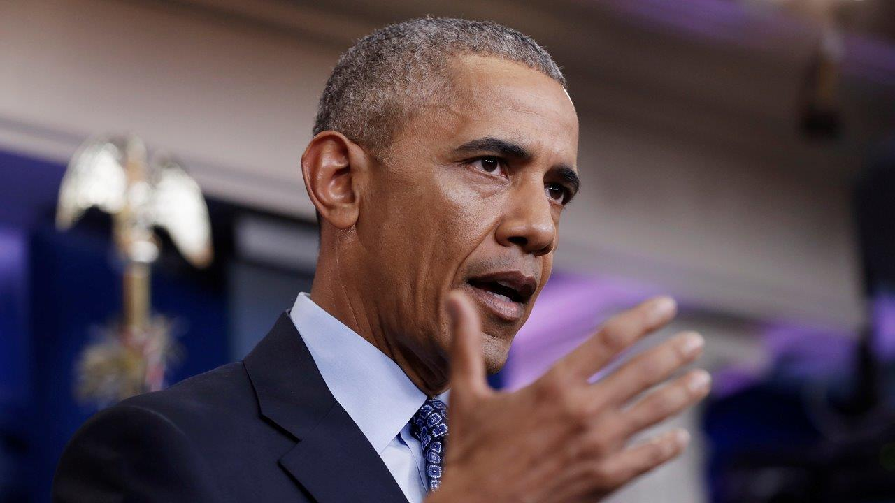 Obama's last press conference: What a victory lap. What a mess