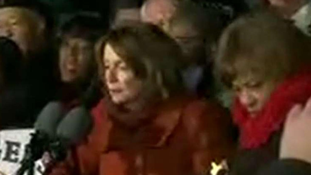 Pelosi caught on hot mic telling fellow Rep: 'Tell them you're a Muslim'