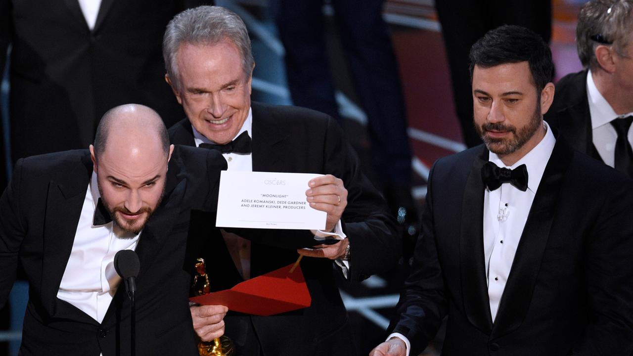 Oscars mix-up: Wrong film announced as best picture winner