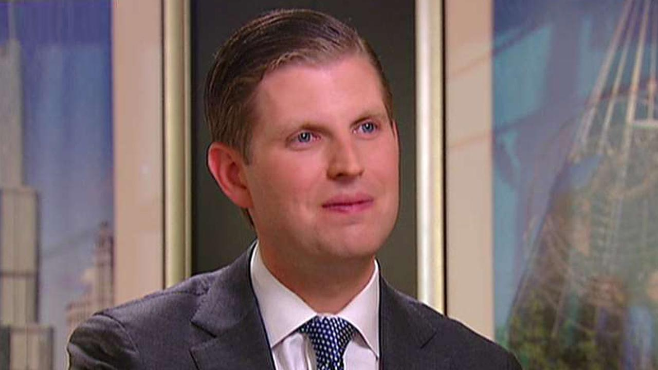 President's son discusses how he handles criticism, changes within the family business on 'Sunday Morning Futures'