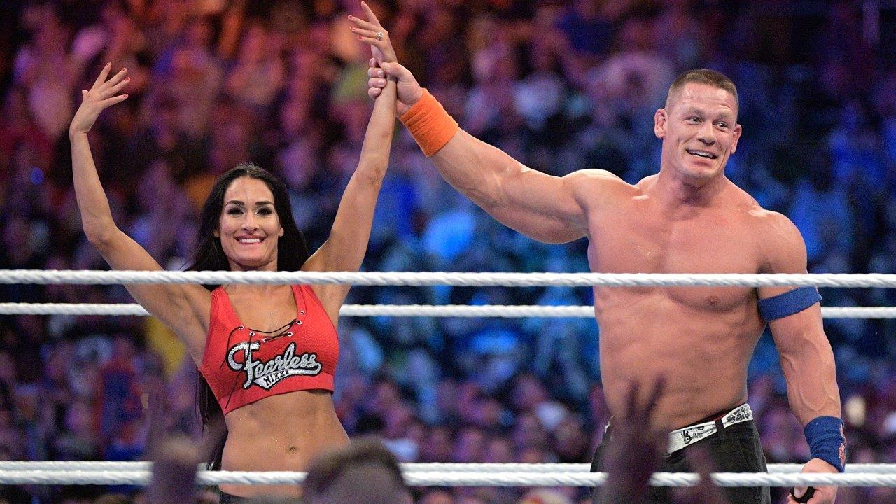 John Cena proposes at Wrestlemania