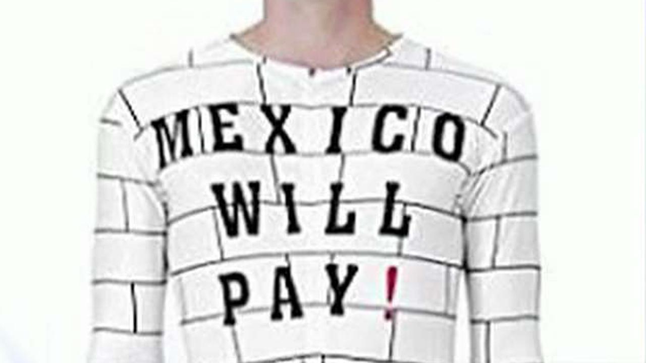 Activists demand Amazon remove 'Mexico Will Pay' costume