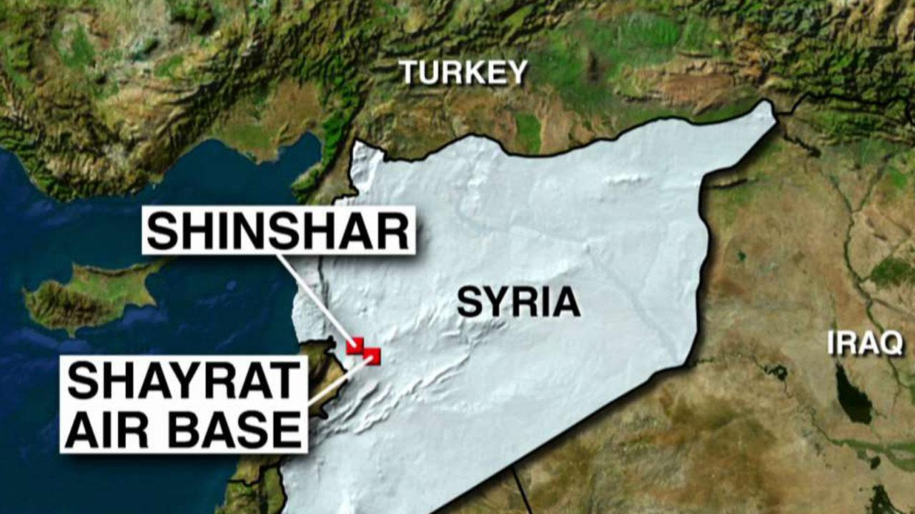 Us Launches Missiles Into Syria In