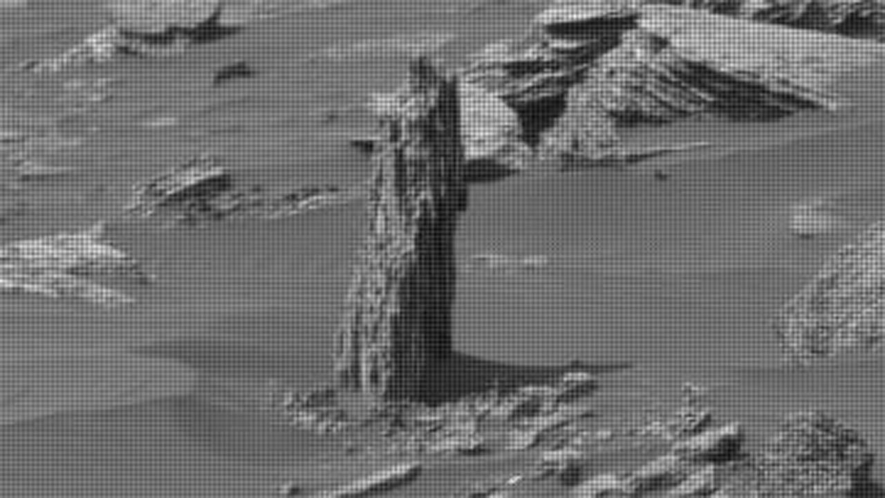 'Ancient tree stump' spotted on Mars?
