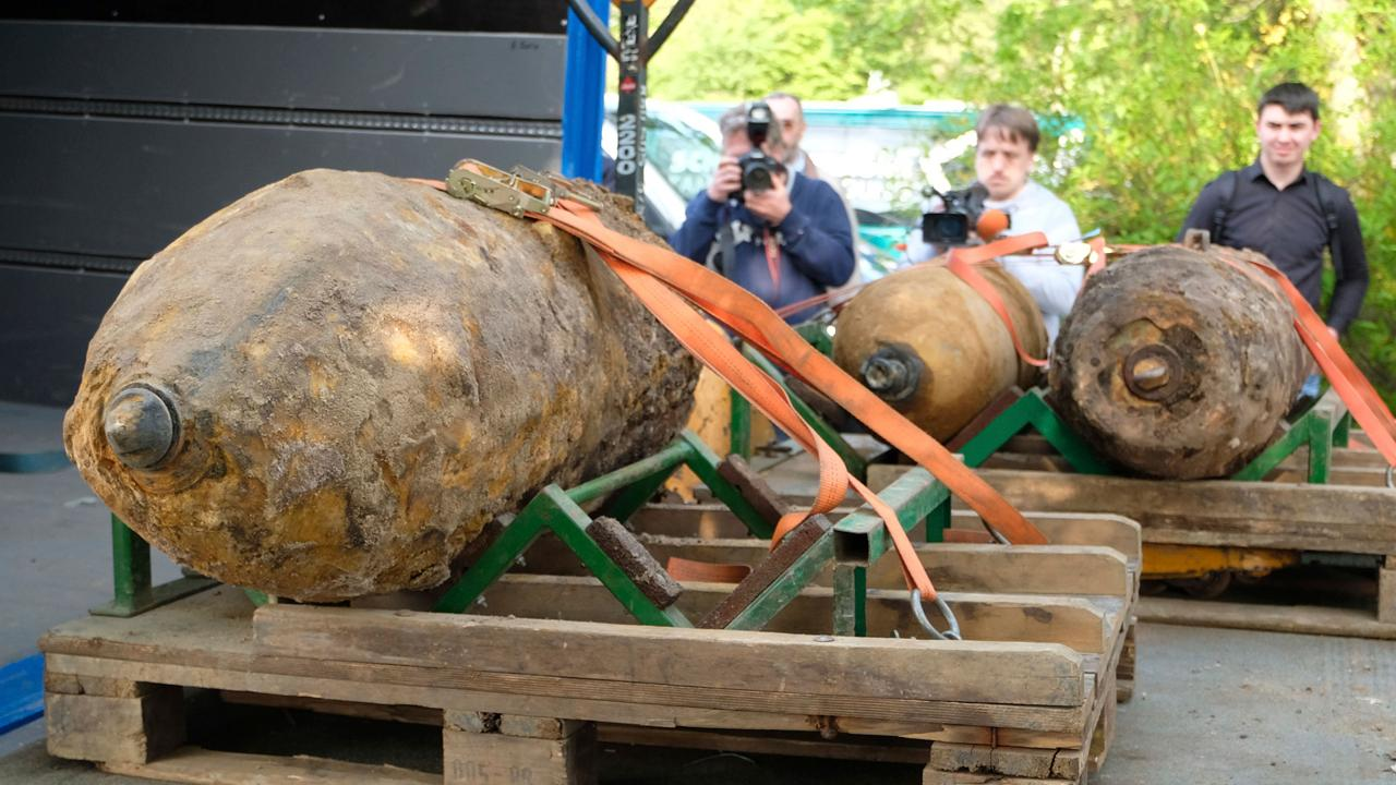 WWII-era bomb found in western Germany, disabled after evacuations