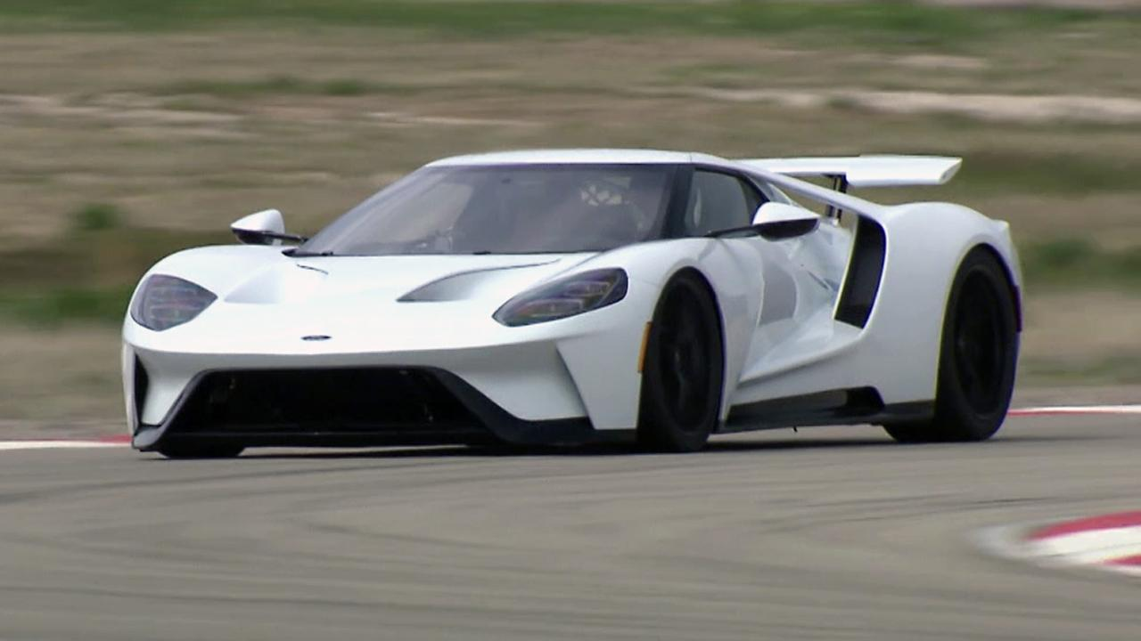 2017 ford gt test drive fox news
