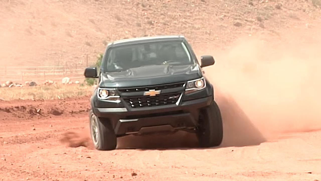 Secrets of the Chevrolet Colorado ZR2