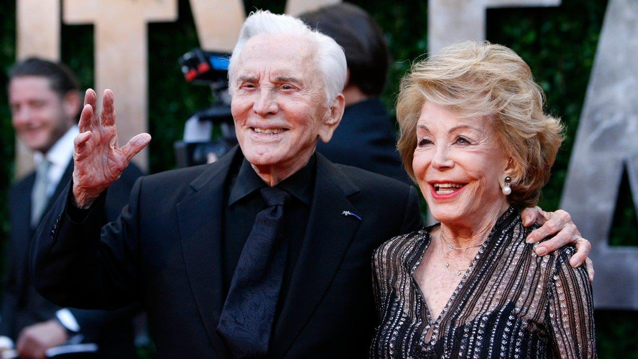 Kirk Douglas says wife Anne saved his life twice, even ...