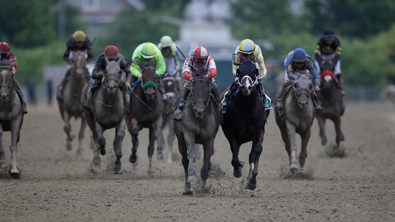 Underdog 'Cloud Computing' wins 142nd Preakness Stakes