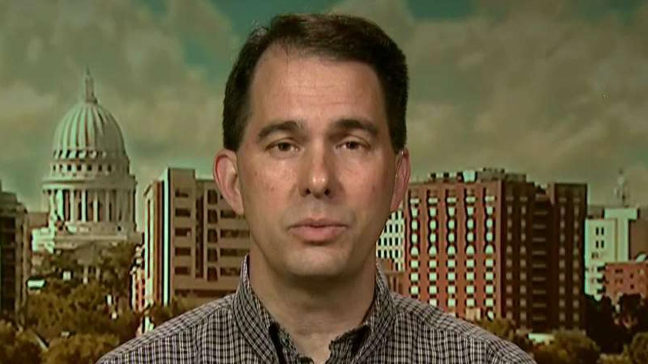 Walker on Wisconsin's push to drug test Medicaid applicants