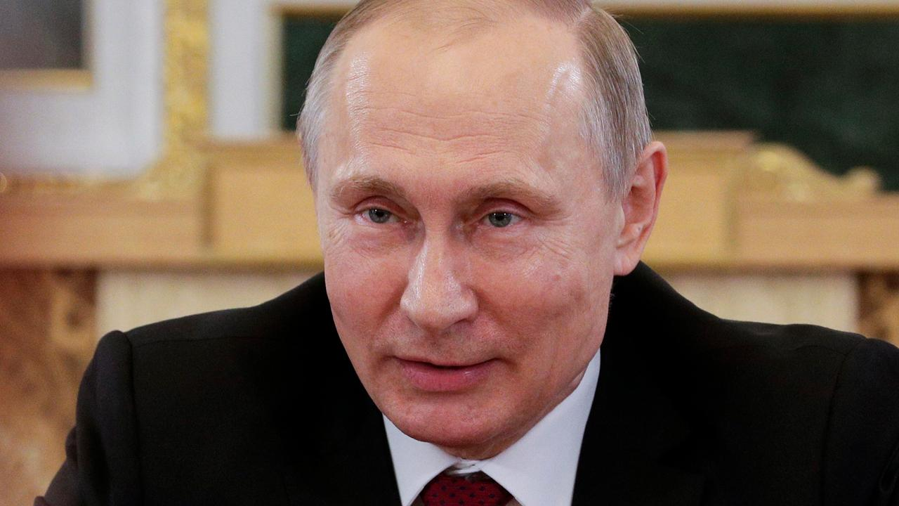 Putin says Russia doesn't engage in hacking at a state level