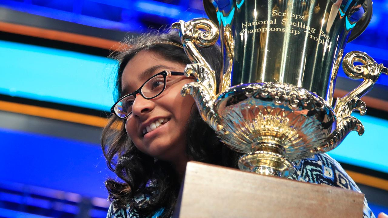 Ananya Vinay, a 12-year-old 6th grader, has won the 90th Scripps National Spelling Bee with the word 'Marocain'
