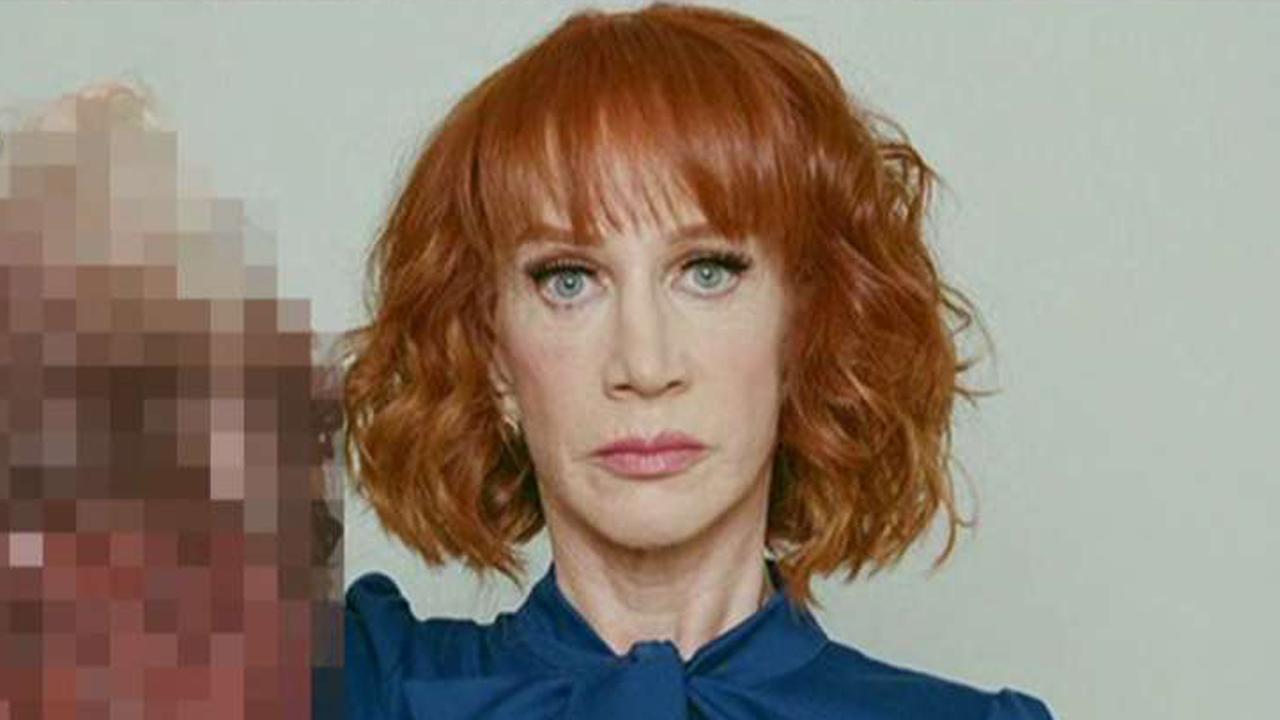 Kathy Griffin blames Trump