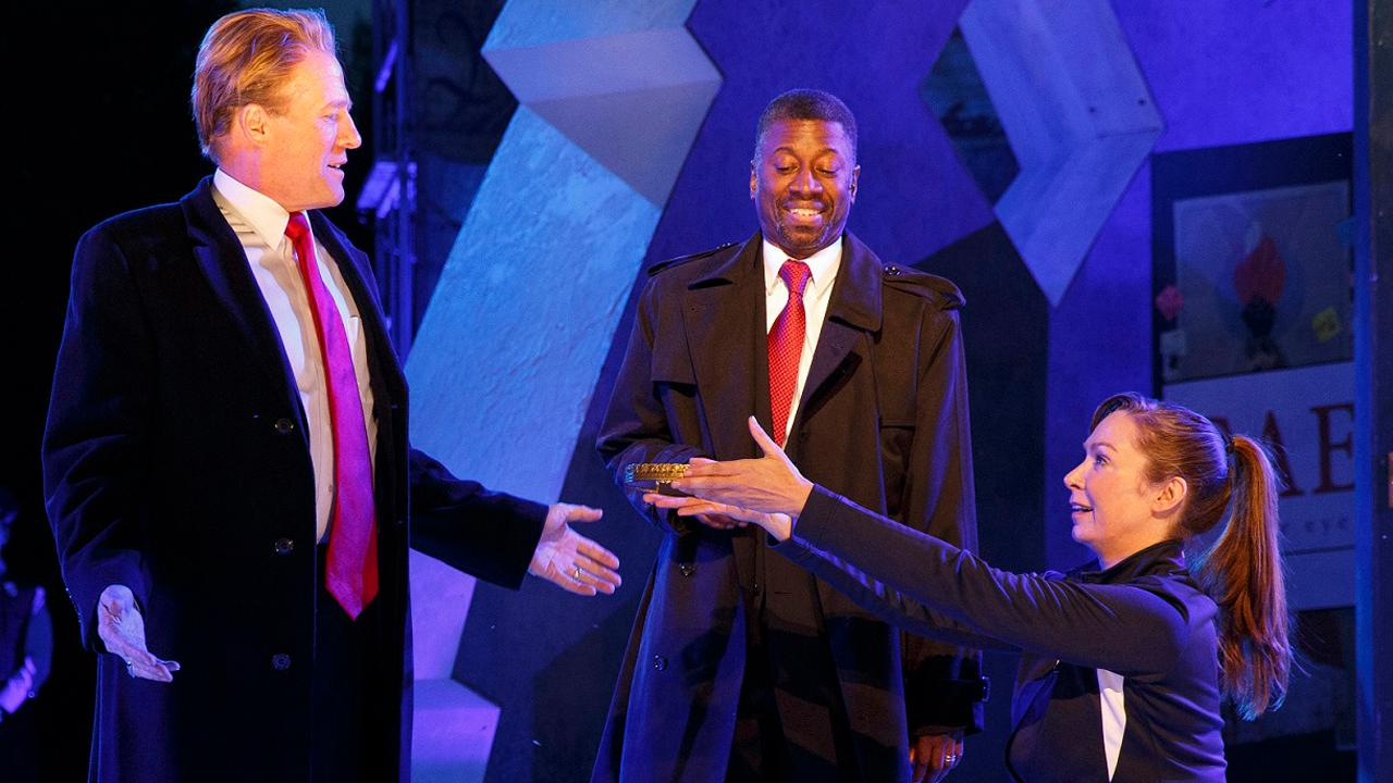 Trump-like Julius Caesar killed in Central Park play