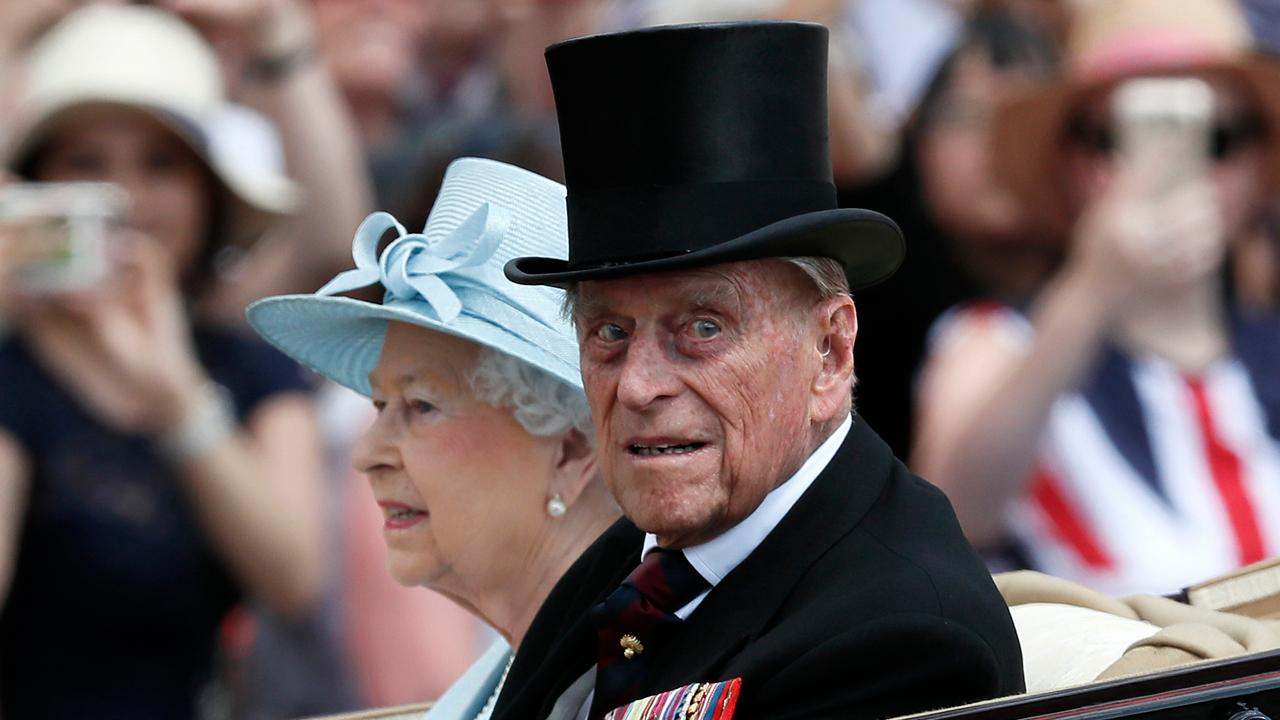 Britain's Prince Phillip hospitalized