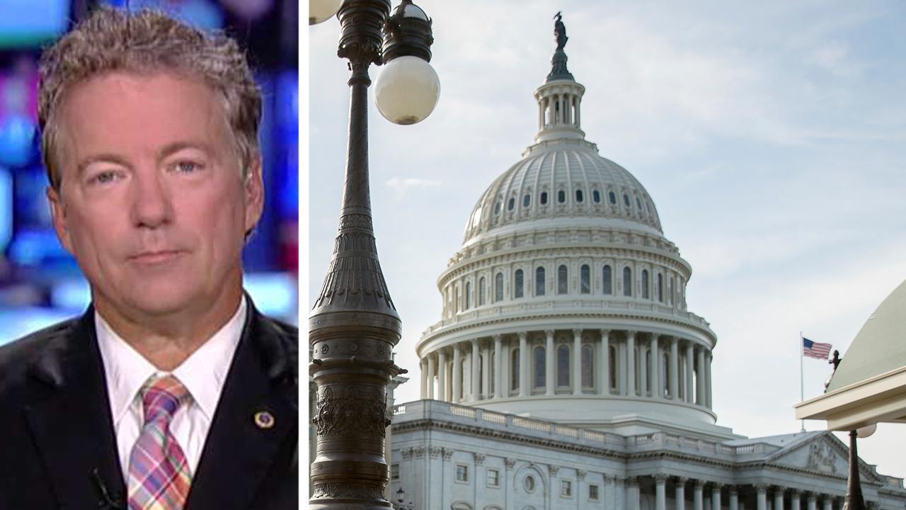 Sen. Rand Paul suggests splitting health care bill in two