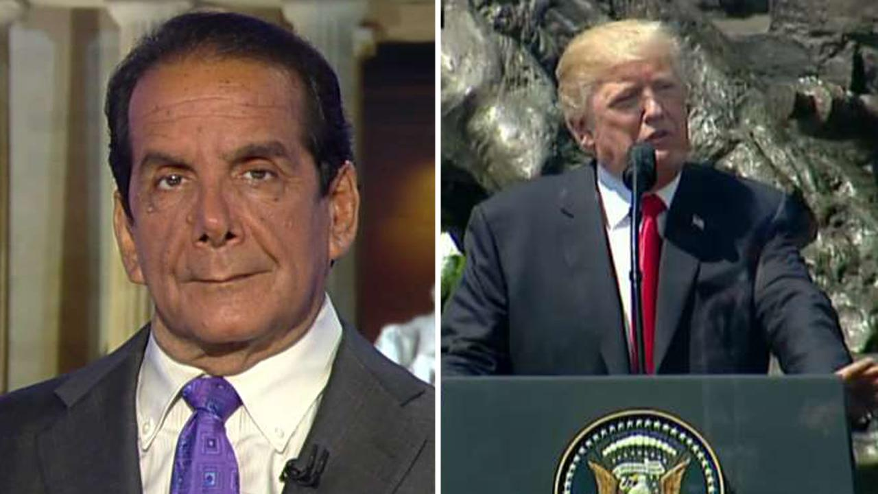 Krauthammer: Trump's Warsaw speech was his best, Reaganesque