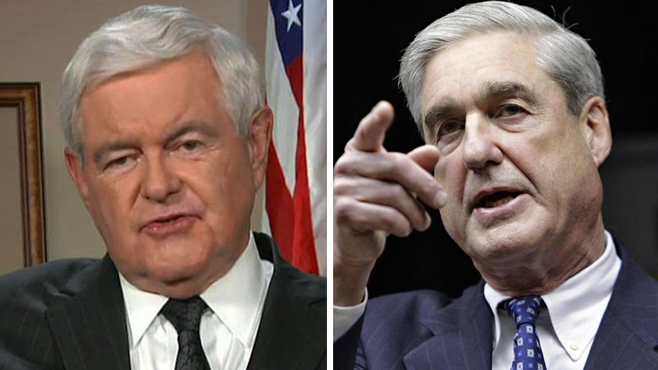 Gingrich: Will Mueller investigate Democrats and Ukraine?