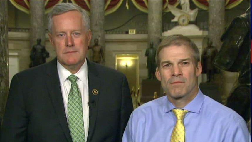 Reps. Jordan, Meadows call for a clean repeal of ObamaCare