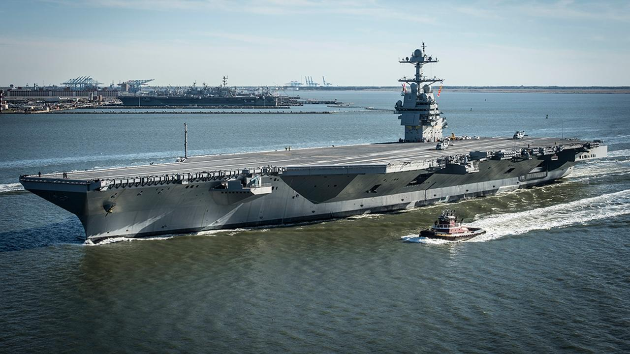 Uss Gerald R Ford Inside The Worlds Most Advanced Aircraft