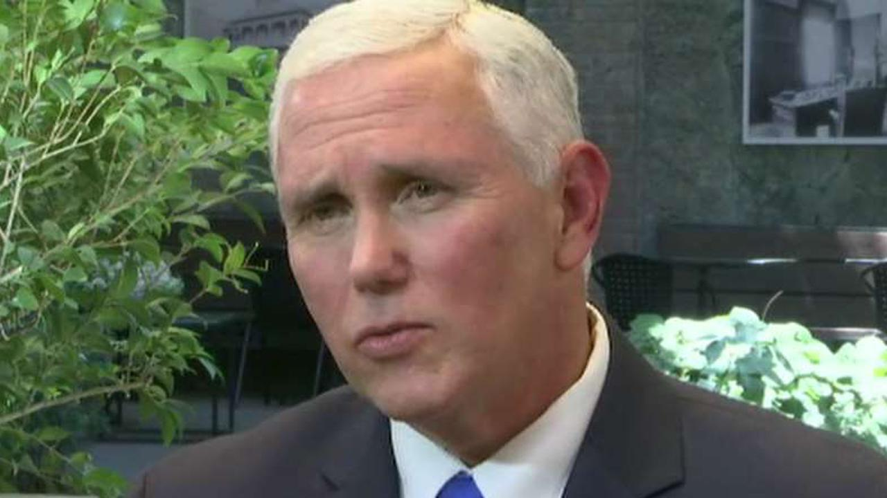 Pence blasts reports about possible 2020 White House run