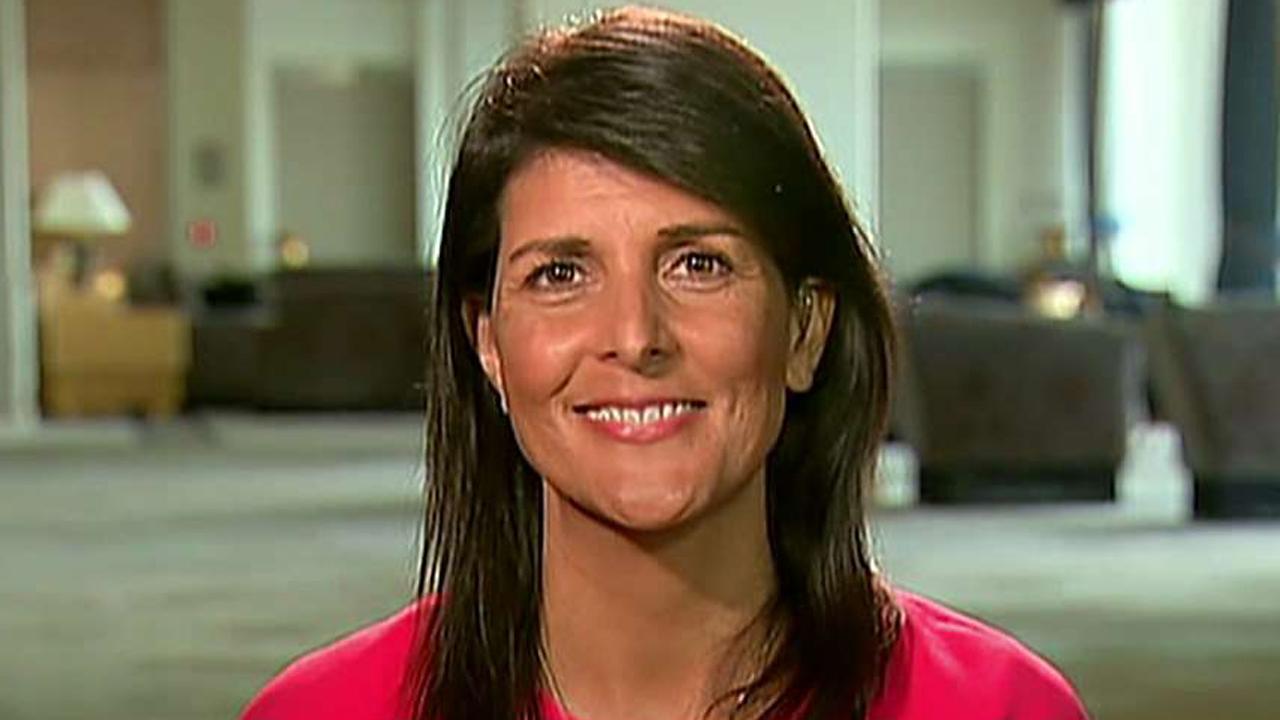 U.S. ambassador to the U.N. provides insight on 'Sunday Morning Futures'
