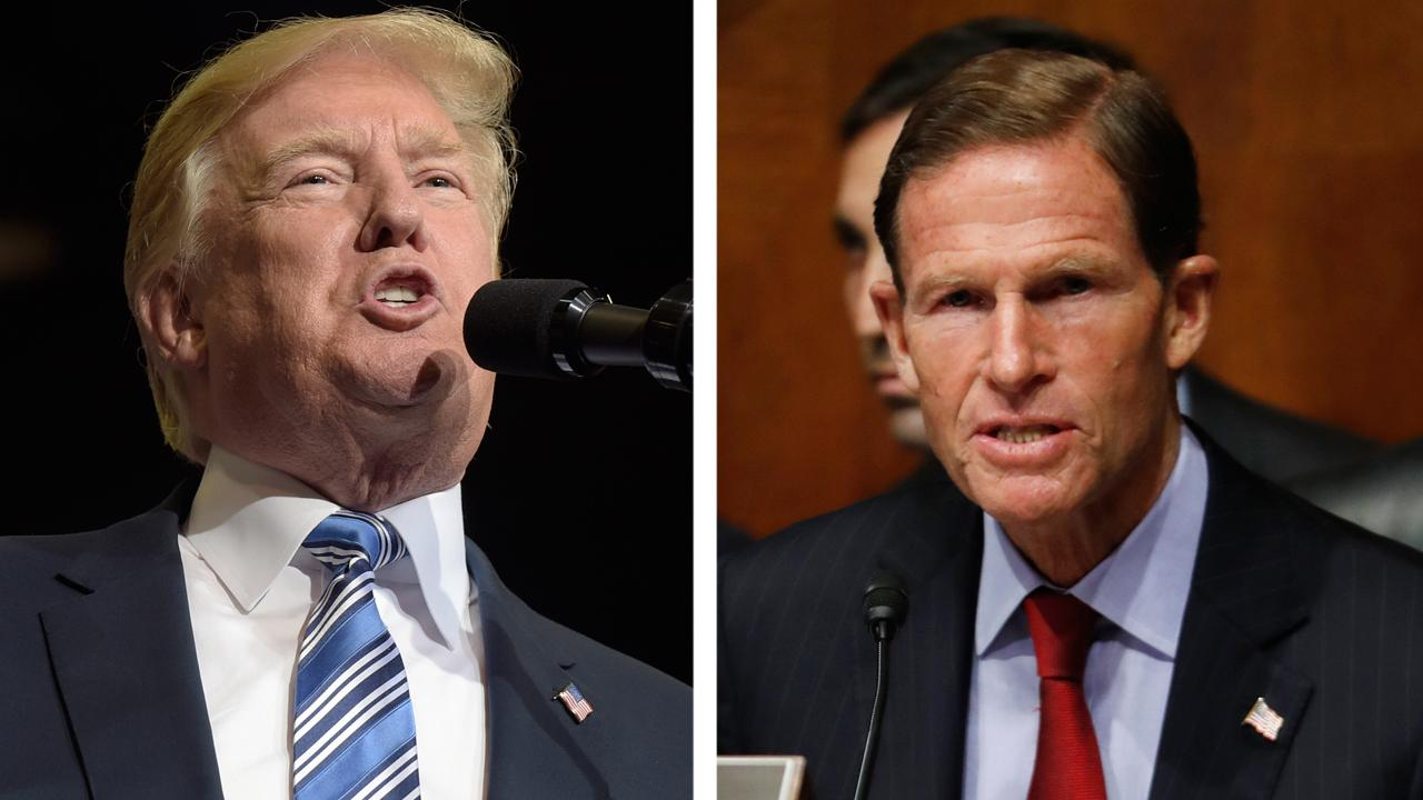 Trump slams 'phony Vietnam con artist' Blumenthal on Twitter