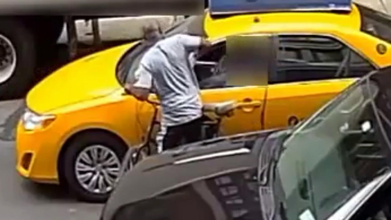 Bicycle bandit robbing taxi drivers sought by NYPD