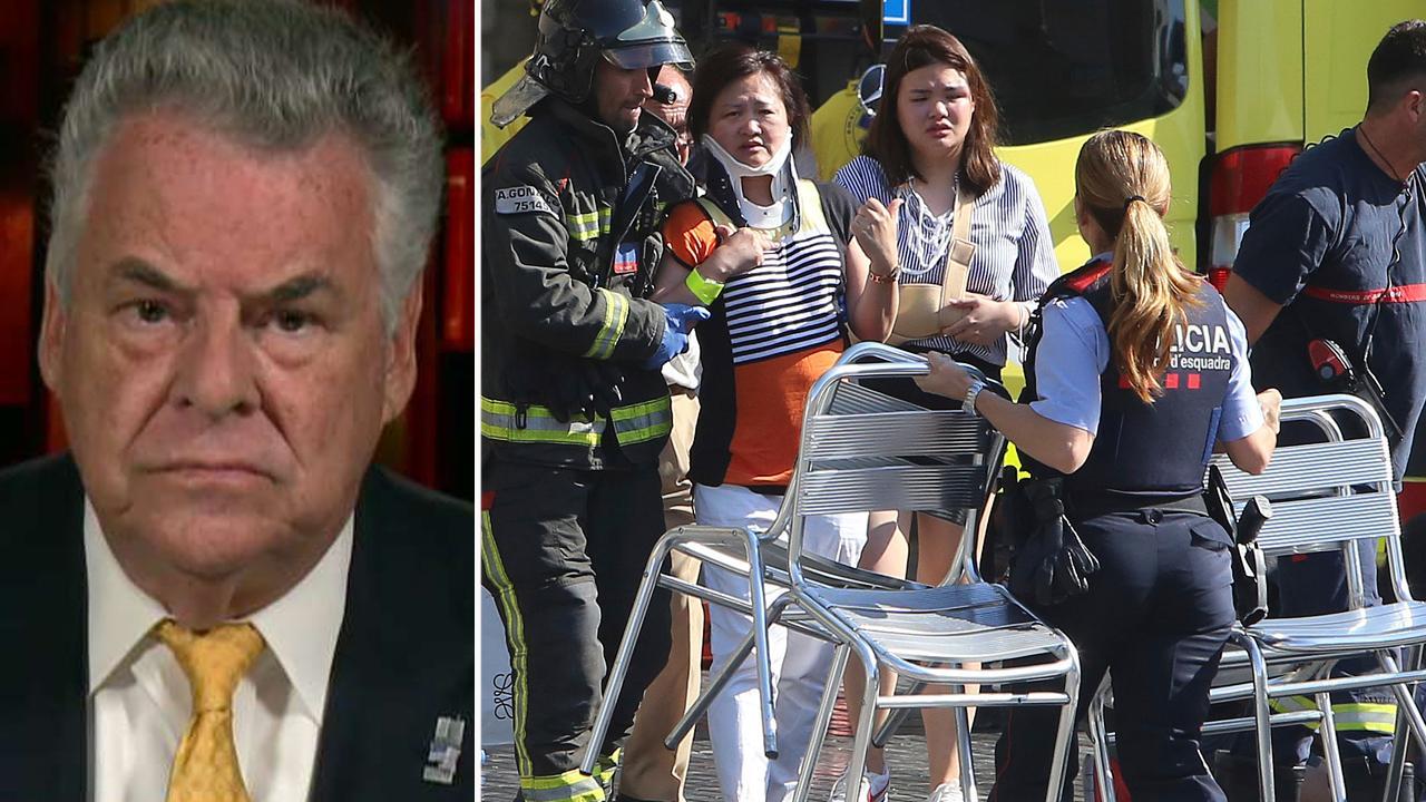 New York congressman reacts to Spain terror attacks, talks North Korea threats on 'Sunday Morning Futures'