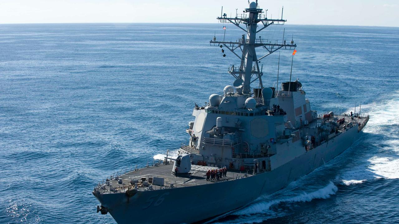 USS John McCain involved in collision near Singapore
