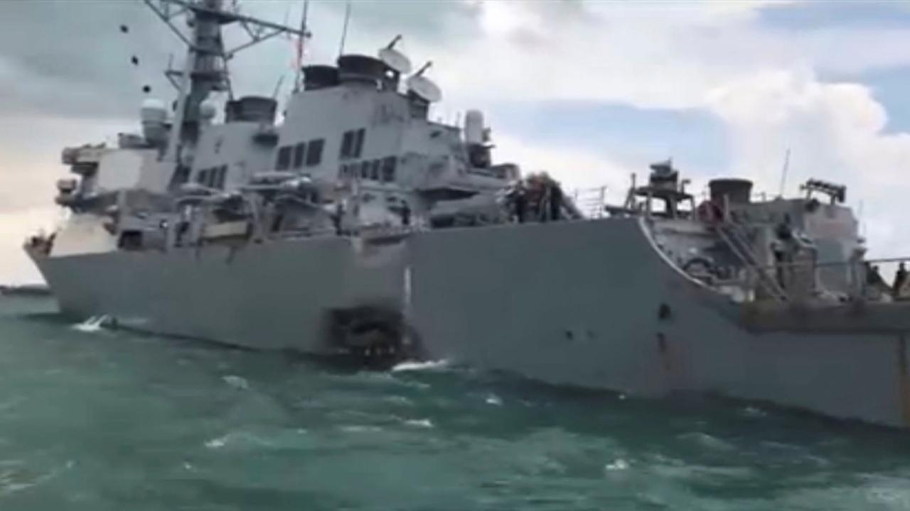 Navy's top officer orders fleetwide probe into collision