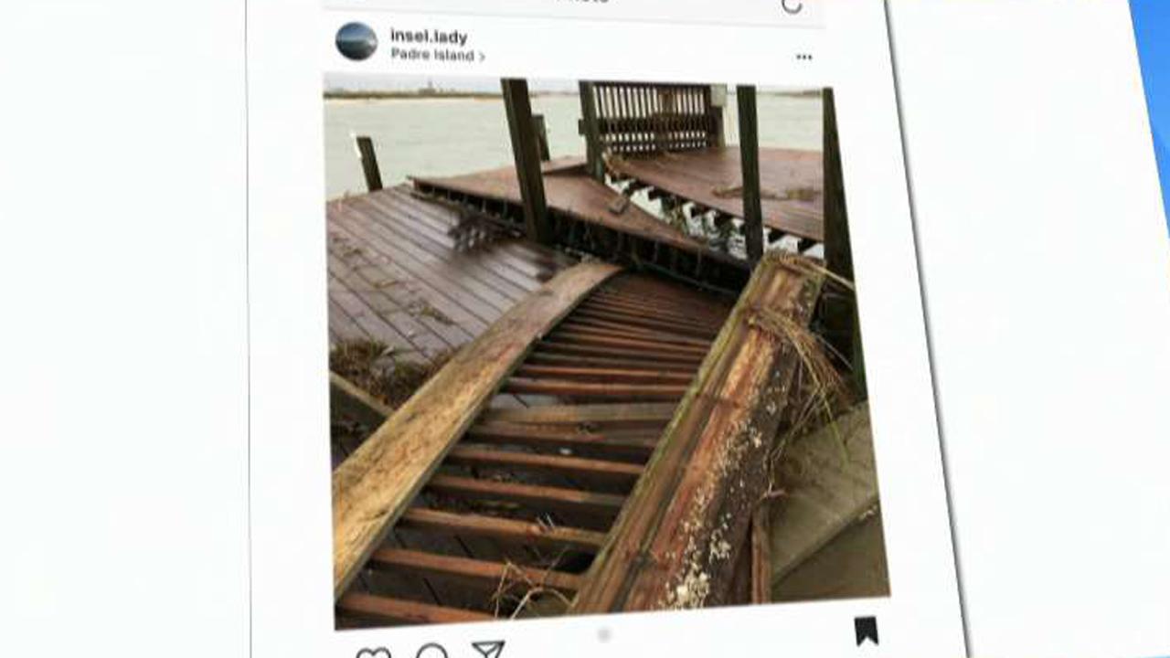 Social media offers glimpse of Hurricane Harvey's impact