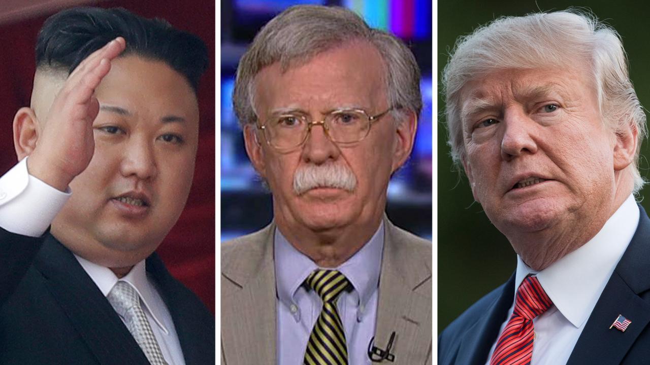 Amb. Bolton on debate over using military option on NKorea